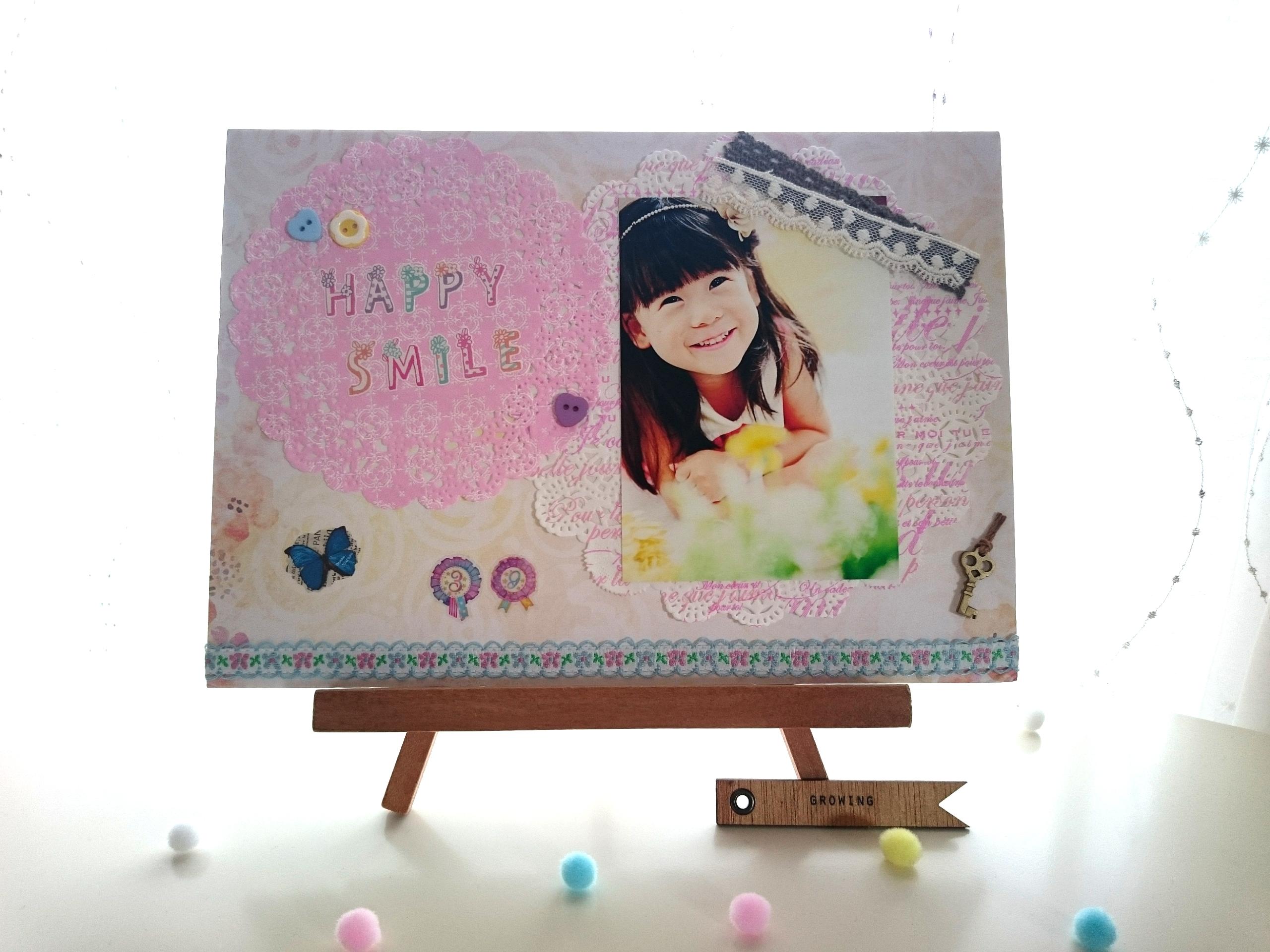 ピンク系【HAPPY SMILE】